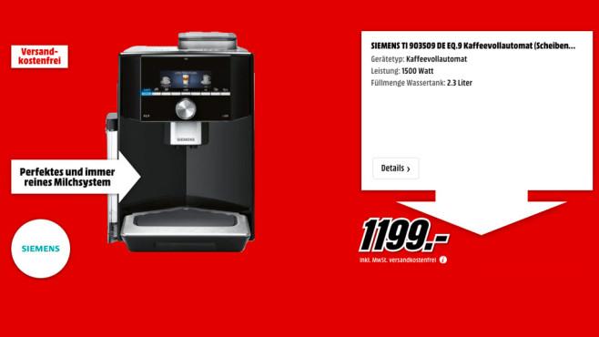 Siemens TI 903509 DE EQ.9 ©Media Markt