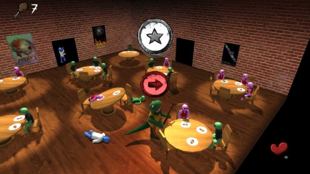 Screenshot 1 - Abelardo: Steakhouse Musician