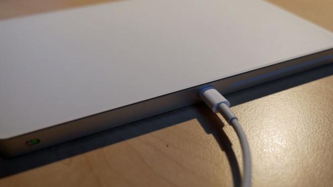 Trackpad aufladen©COMPUTER BILD