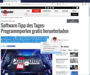 Copy PlainText für Firefox