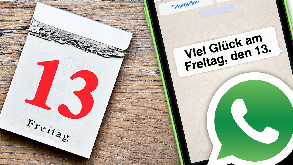 Freitag Der 13 Whatsapp Sprüche Gegen Das Unglück Computer Bild