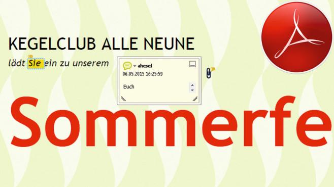 Ein PDF kommentieren ©Adobe, Montage: COMPUTER BILD