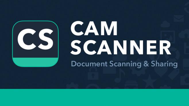 Smartphone als Scanner ©INTSIG Information Co., Ltd