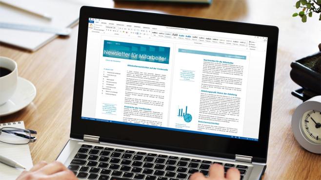 Microsoft Word 2016©Copyright: Brian Jackson – Fotolia.com, Microsoft
