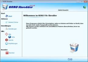 KoRo Shredder