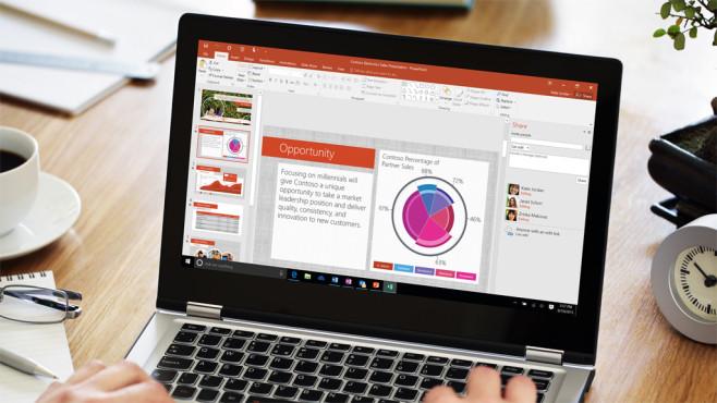 Microsoft PowerPoint 2016©Brian Jackson – Fotolia.com, Microsoft