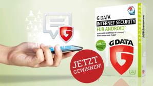 Internet Security f�r Android: 500 Lizenzen zu gewinnen Gewinnen Sie eines von 500 Exemplaren �Internet Security f�r Android� von G Data.©G Data