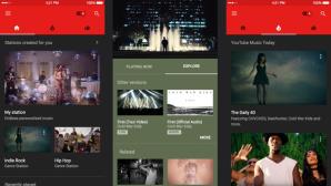 YouTube Music Screenshots©iTunes