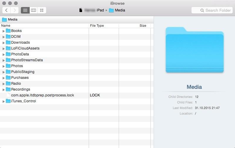 Screenshot 1 - iBrowse (Mac)