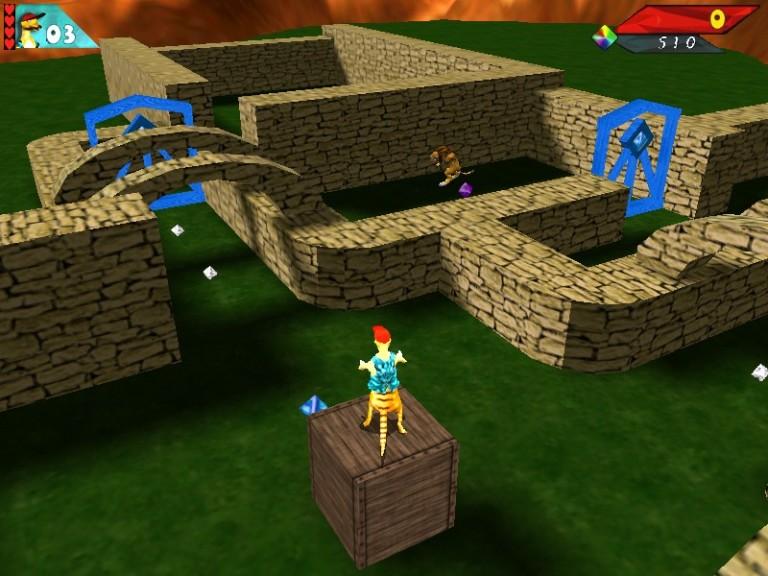 Screenshot 1 - Sammy Suricate in Lion Land