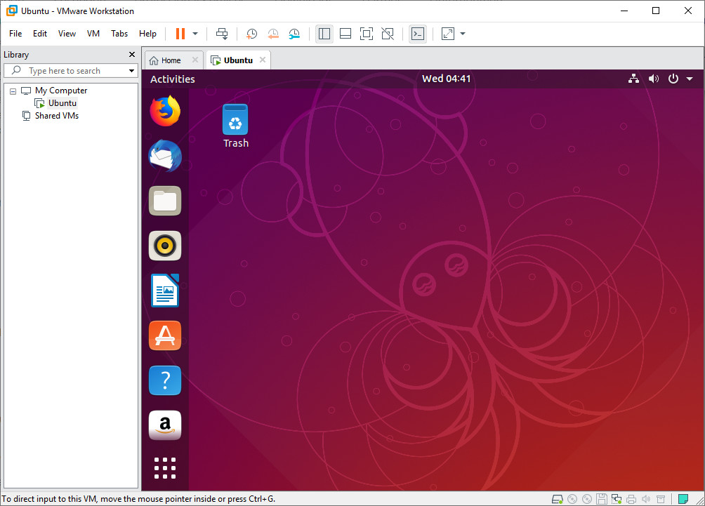 Screenshot 1 - VMware Workstation Pro