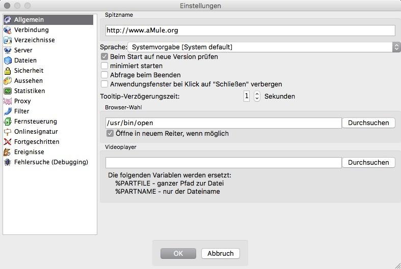 aMule (Mac) 2 3 1 - Download - COMPUTER BILD