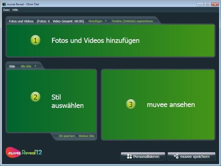 Screenshot 1 - Muvee Reveal