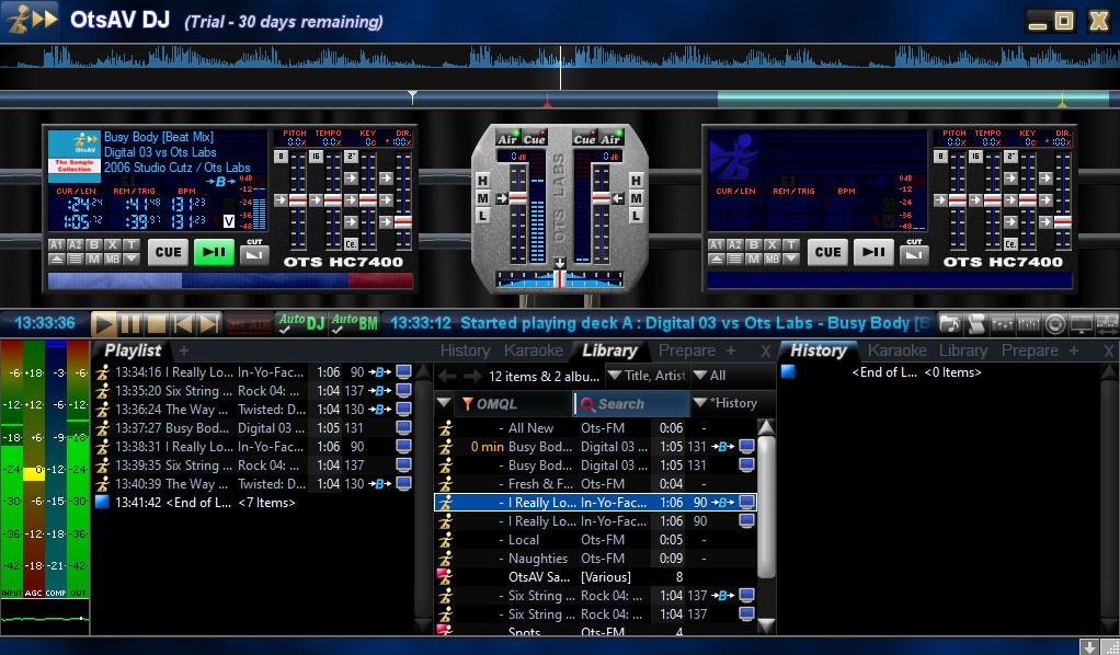 Screenshot 1 - OtsAV DJ