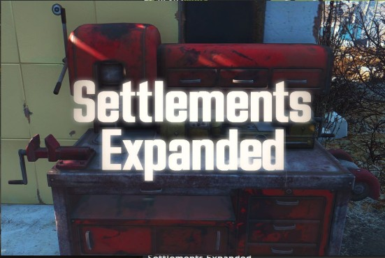 Fallout 4 Settlements Expanded ©Bethesda/BlueSin/NexusMods