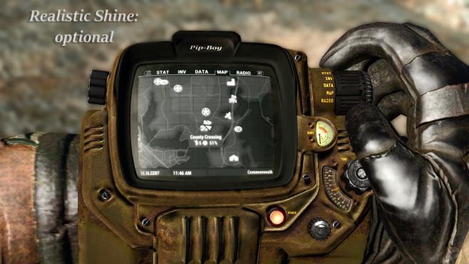 Fallout Texture Overhaul PipBoy ©nexusmods / Gorgulla