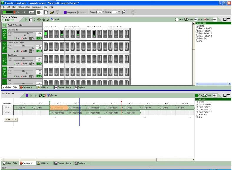 Screenshot 1 - Acoustica Beatcraft