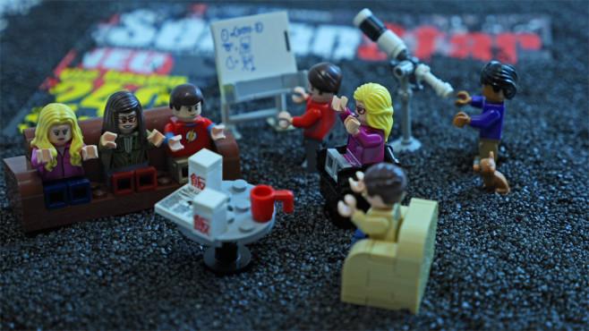 Die Chaos-WG von The Big Bang Theory©COMPUTER BILD
