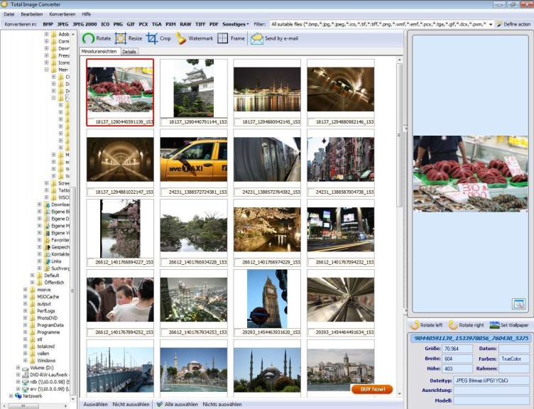Screenshot 1 - Total Image Converter