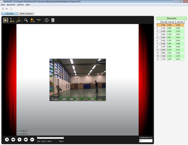 Screenshot 1 - NewtonDV
