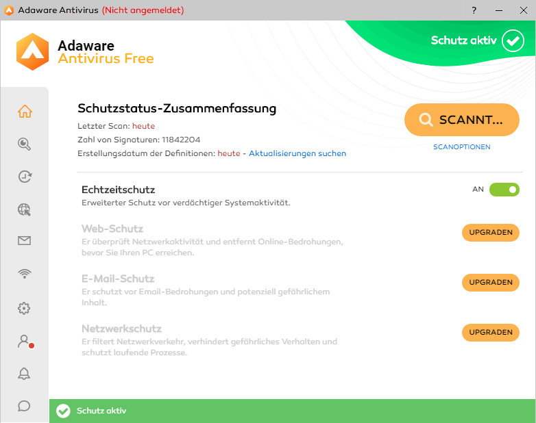 Screenshot 1 - Ad-Aware Free Antivirus