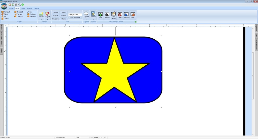 Screenshot 1 - Logo Design Studio
