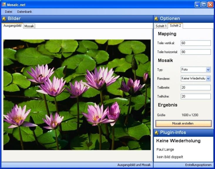 Screenshot 1 - Mosaic.net