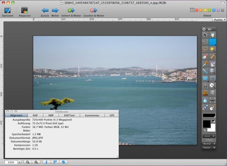 Screenshot 1 - GraphicConverter (Mac)