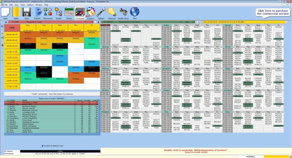 Screenshot 1 - Mimosa
