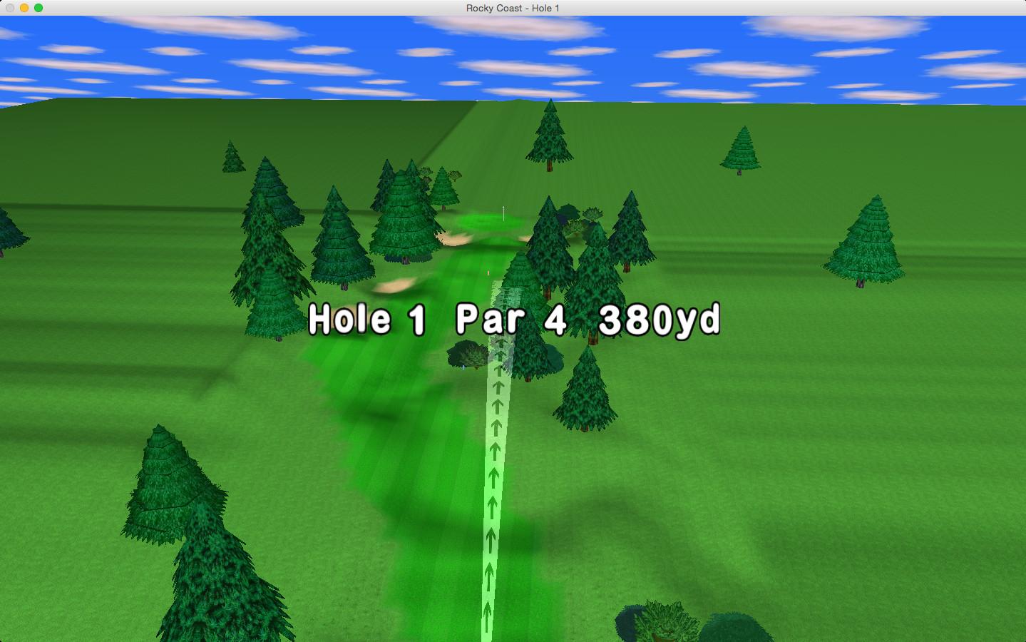Screenshot 1 - GL Golf Lite (Mac)