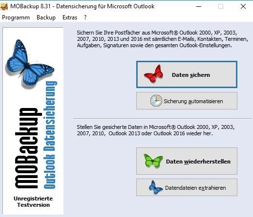Screenshot 1 - MOBackup