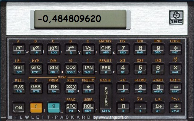 Screenshot 1 - HP15C
