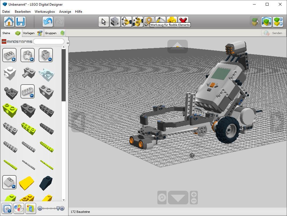 Screenshot 1 - Lego Digital Designer