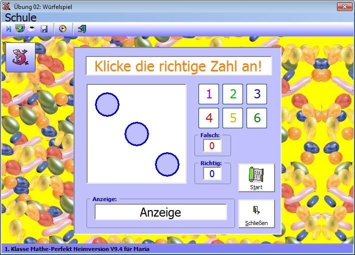 Screenshot 1 - Mathe Perfekt 1. Klasse