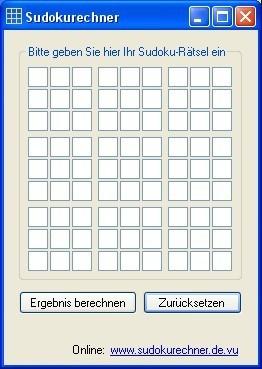 Sudokurechner