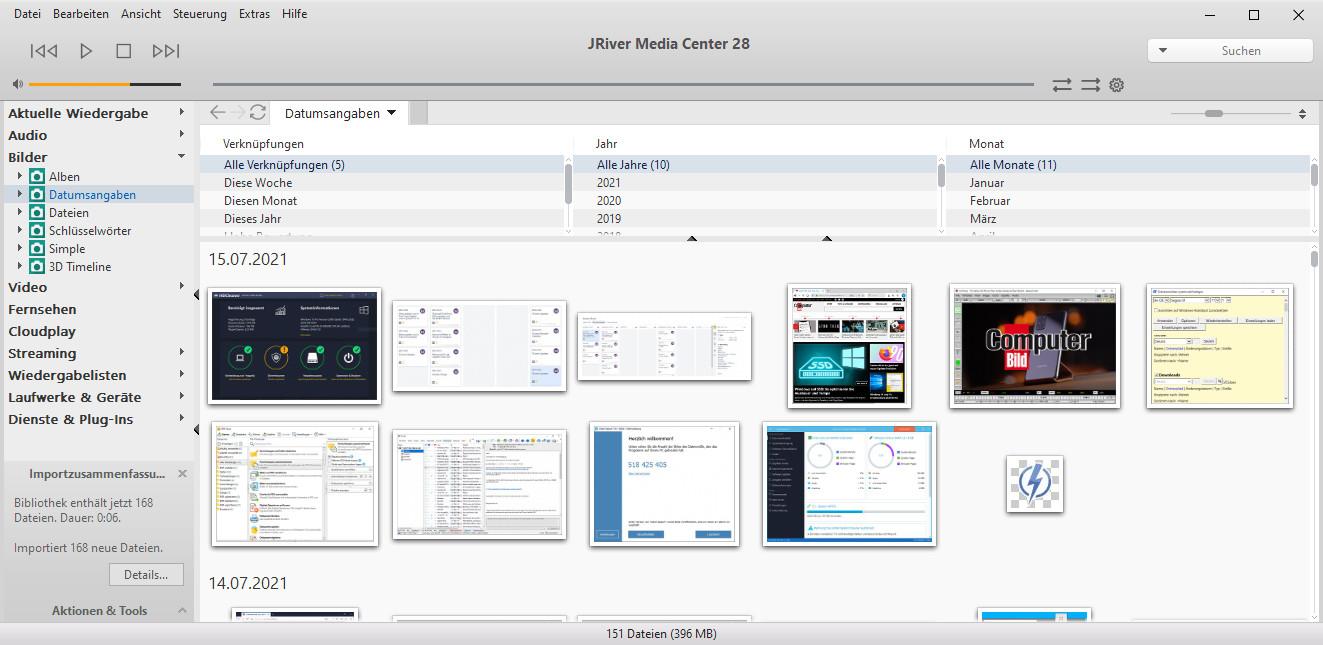 Screenshot 1 - J. River Media Center