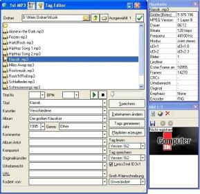 1st MP3 Tag Editor