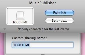 Screenshot 1 - MusicPublisher (Mac)