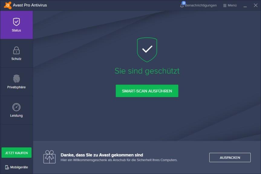 Screenshot 1 - Avast Pro Antivirus 2019