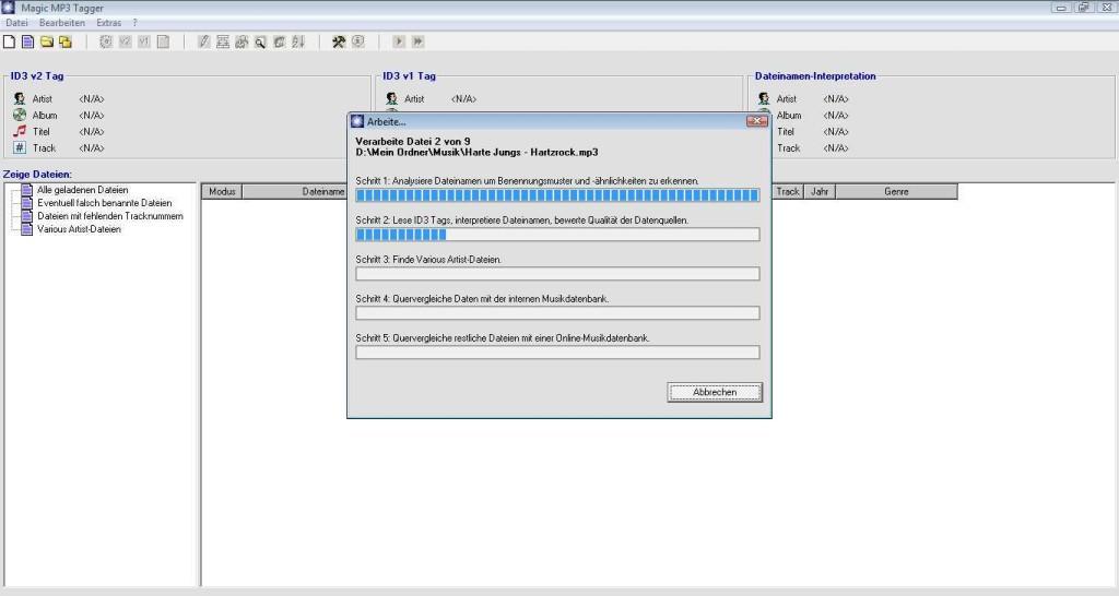 Screenshot 1 - Magic MP3 Tagger
