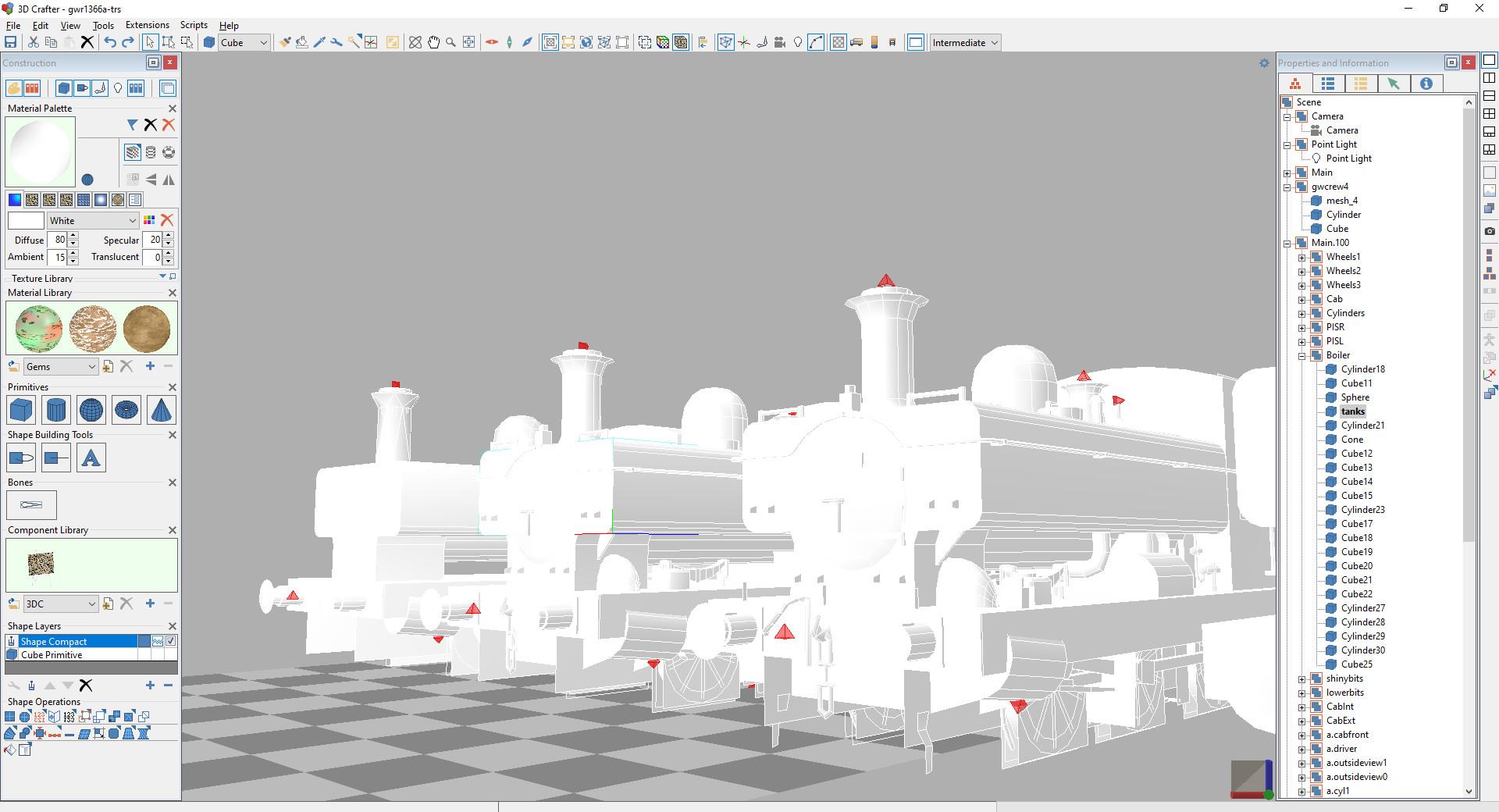 Screenshot 1 - 3DCrafter