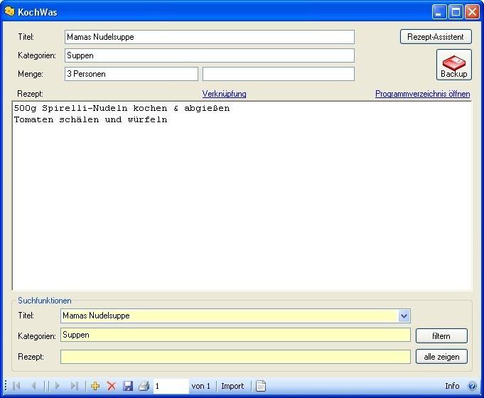 Screenshot 1 - KochWas