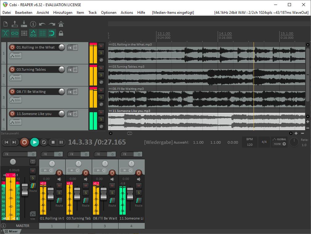 Screenshot 1 - Reaper