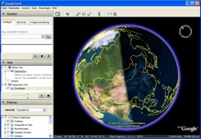 Day and Night für Google Earth