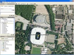 Football stadiums around the world für Google Earth