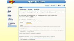 Fritz OS aufspielen©COMPUTER BILD