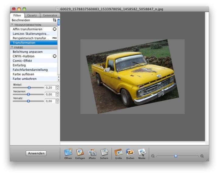 Screenshot 1 - Image Tricks (Mac)