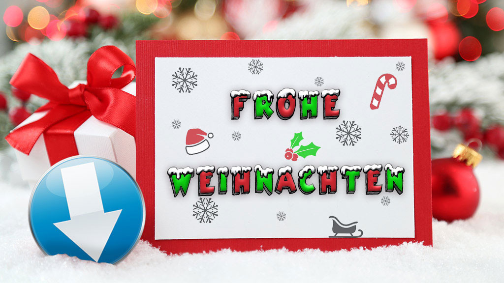 Weihnachtskarten Freeware.Weihnachtskarte Selber Gestalten Computer Bild