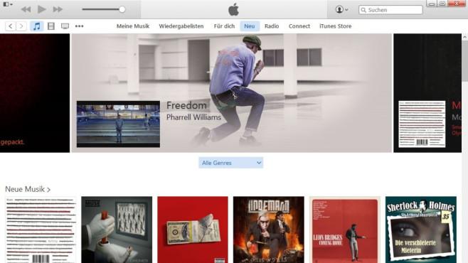 Platz 32: iTunes (neu) ©COMPUTER BILD