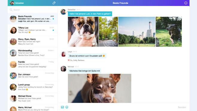 Yahoo Messenger im Web©Yahoo